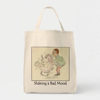 Shaking a Bad Mood Grocery Reusable Bag