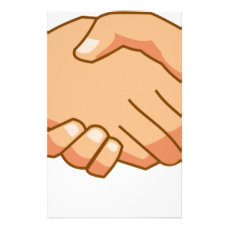 Shaking Hands Stationery