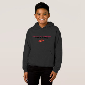 SHAKING THE BACON HOOODIE (Youth Large) Hoodie