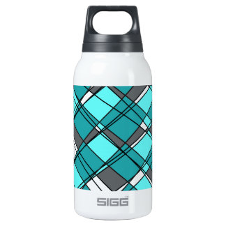 Shaky Lines Insulated Water Bottle