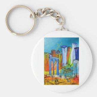 Shaky New York Keychain