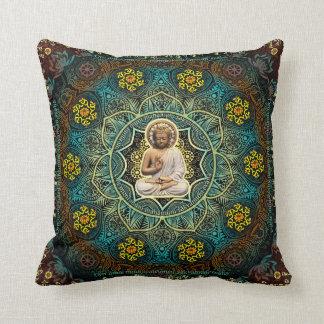 Shakyamuni Buddha- Enlightenment, Peace, Happiness Pillows
