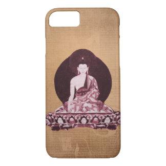 Shakyamuni Buddha Grunge Vintage iPhone 7 Case