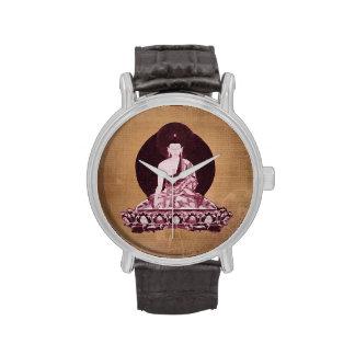 Shakyamuni Buddha Grunge Vintage Wrist Watch