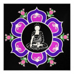 Shakyamuni Buddha in Lotus Throne Mandala Custom Invite