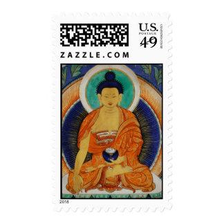 Shakyamuni Postage Stamp