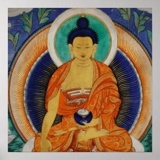 Shakyamuni Thangka Print