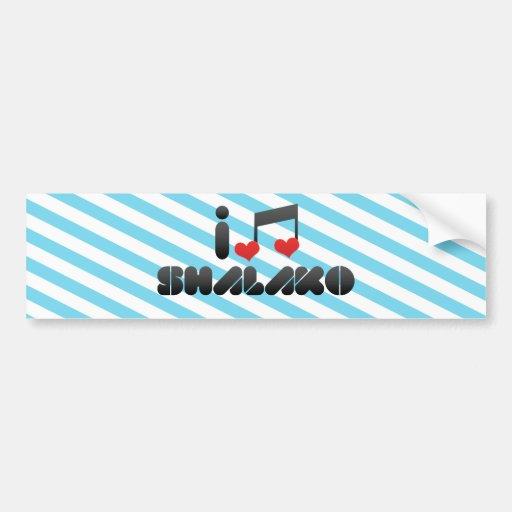Shalako fan bumper stickers