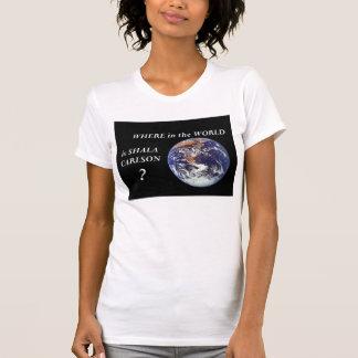 Shala's World Tour T-shirt