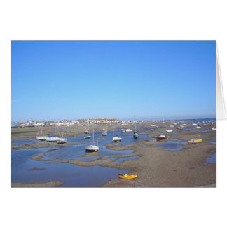 Shaldon Estuary Devon. Card