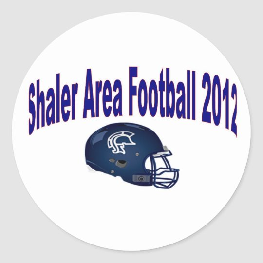 Shaler Area Football Classic Round Sticker