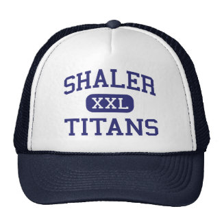 Shaler - titanes - área - Pittsburgh Pennsylvania Gorros Bordados