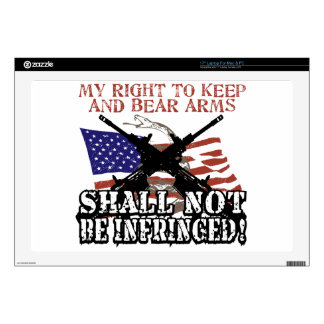 """Shall Not Be Infringed 17"""" Laptop Skin"""