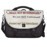 Shall NOT be Infringed Bag For Laptop