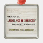 Shall NOT be Infringed Christmas Tree Ornaments