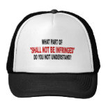 Shall Not Be Infringed Hats