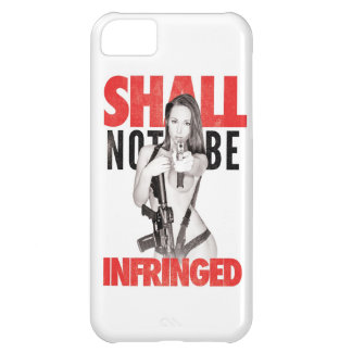 Shall Not Be Infringed iPhone 5C Cover