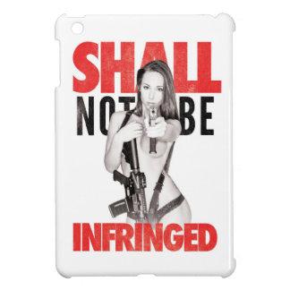 """Shall Not Be Infringed"" WHITE Case Savvy iPad Min Case For The iPad Mini"