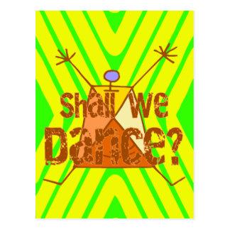 Shall We Dance Postcard