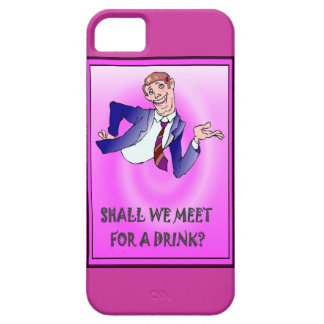 Shall we meet for a drink? iPhone SE/5/5s case