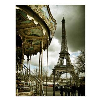 Shall we ride postcard