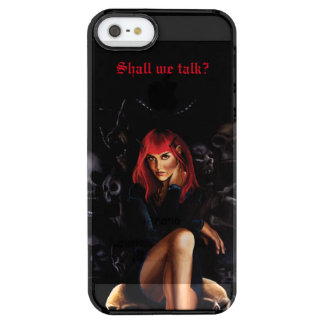 Shall we Talk? Clear iPhone SE/5/5s Case
