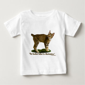 Shallest Feline is a Masterpiece Baby T-Shirt