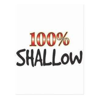 Shallow 100 Percent Postcard