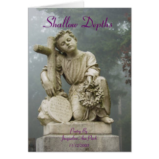 Shallow Depths Greeting Card