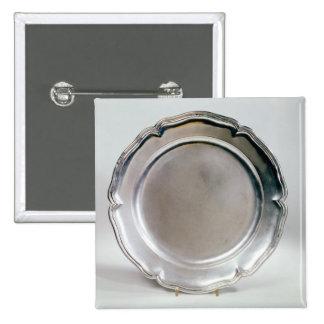 Shallow dish, Spanish, 1736 Pinback Button