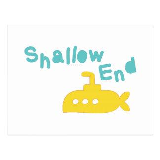 Shallow End Postcard