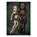 """Shallow Grave"" Greeting Card"