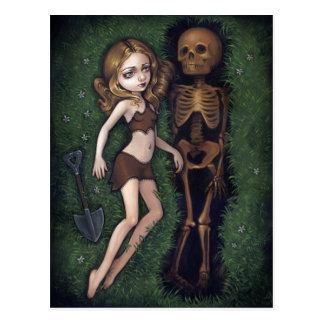 """Shallow Grave"" Postcard"