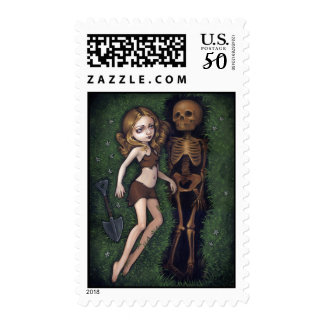 """Shallow Grave"" Stamp"