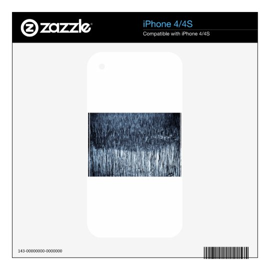 Shallow Pond Reeds Skin For The iPhone 4