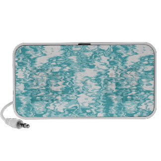shallow water speaker- turquoise iPhone speaker