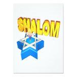 """Shalom 5"""" X 7"""" Invitation Card"""