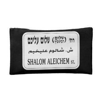 Shalom Aleichem Street, Tel Aviv, Israel Cosmetic Bag