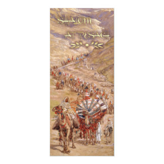 Shalom at Pesach. Fine Art Passover Greeting Cards
