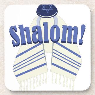 Shalom! Beverage Coaster
