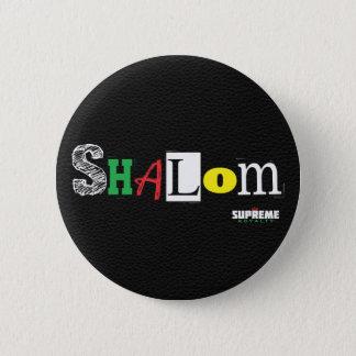 Shalom Button (Black/Tri)