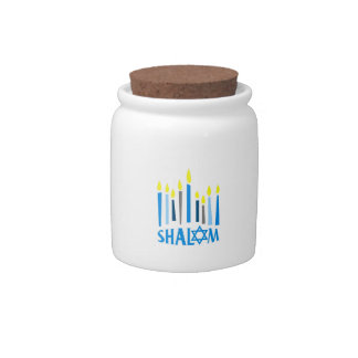 SHALOM CANDY DISHES