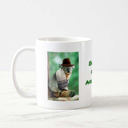 Shalom de la taza de Australia