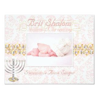 Shalom del británico de PixDezines/marco de la Invitaciones Personales