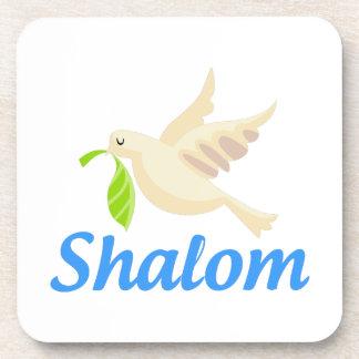 Shalom Dove Coaster