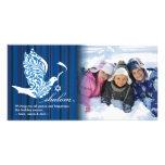 Shalom Dove Horizontal Photo Card Template