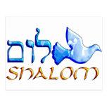 Shalom Dove.png Postcard