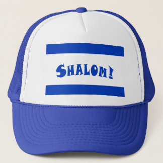 Shalom Flag of Israel Trucker Hat