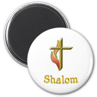Shalom gifts 2 inch round magnet