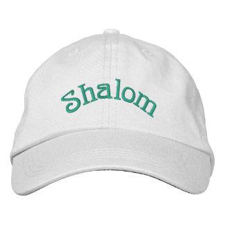 Shalom Gorra De Beisbol Bordada